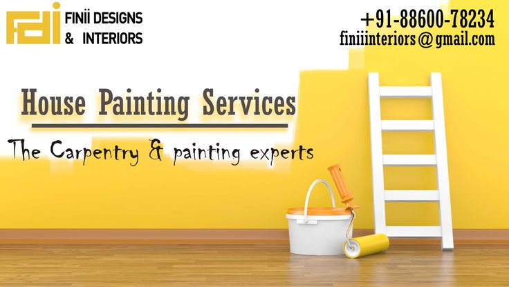House Painting Services : The Carpentry and painting experts #delhi #noida #himachal #india #interior #paint #diwali #color #expert #furniture #designer #vastu #interior #work Give us call 8860078235 Web: www.finiiinteriors.com