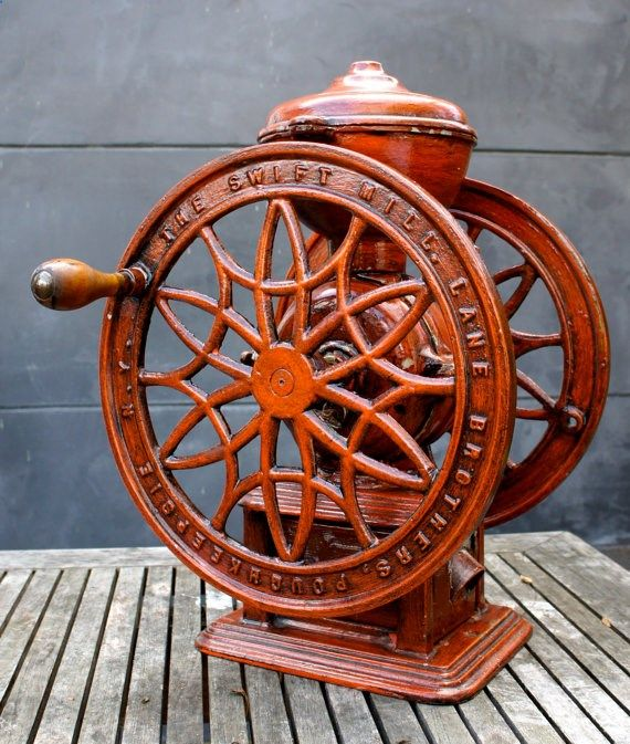Vintage Antique coffee grinder from The Swift Mill by StatusDog, $699.00