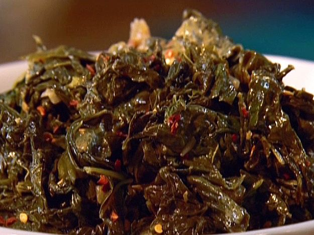 Gina's Turnip Greens Recipe : Patrick and Gina Neely : Food Network - FoodNetwork.com