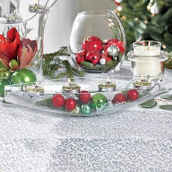 Clearly Creative™ Elegance Tealight Centerpiece