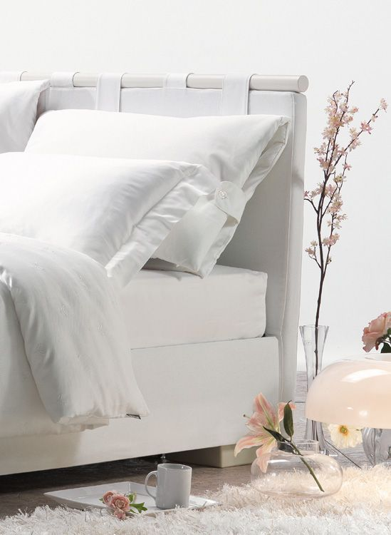 FACILE G romantic storage #bed with reclining panels for the headboard cushions...for your comfort zone <3