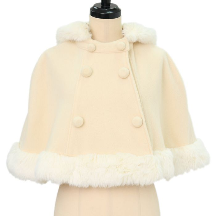 Rabbit ear Fur Cape Shirley Temple https://www.wunderwelt.jp/en/products/%EF%BD%97-14453  IOS application ☆ Alice Holic ☆ release Japanese: https://aliceholic.com/ English: http://en.aliceholic.com/