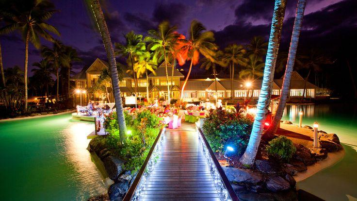 Sheraton Grand Mirage Resort Port Douglas - resort by night