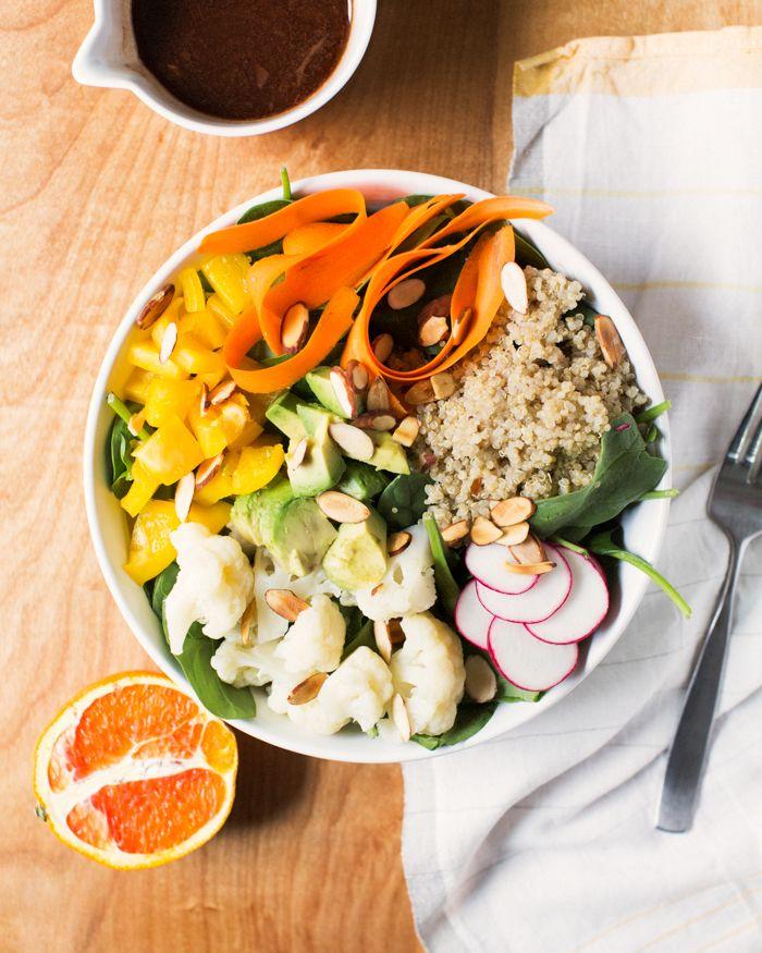 Stress Reducing Avocado & Quinoa Nourish Bowl | A Couple Cooks