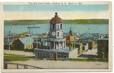 Halifax Nova Scotia The Old Town Clock Postcard in Collectibles, Postcards, International Cities & Towns | eBay