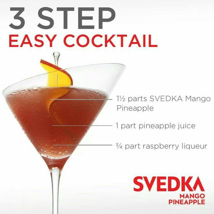 Easy Cocktails, Raspberry Liqueur
