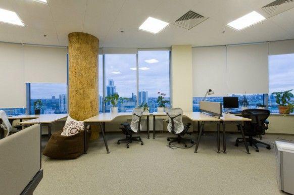 Russian Web Company Yandex's Offices