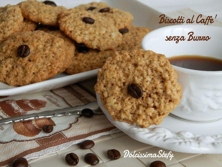 I Biscotti al Caffè sono perfetti per una colazione sana e leggera,non hanno il burro nell'impasto