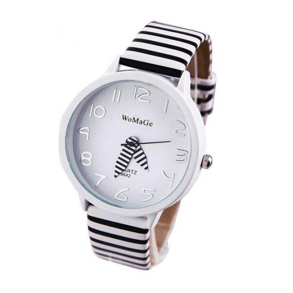 Unique Zebra Style Quartz Watch