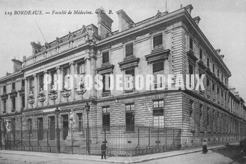 La Faculté de médecine à Bordeaux en 1900
