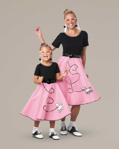 Fab u002750s Costume for Women. Poodle Skirt ...  sc 1 st  Pinterest & The 23 best Girls Grease Lightning Costumes 50u0027s images on Pinterest ...