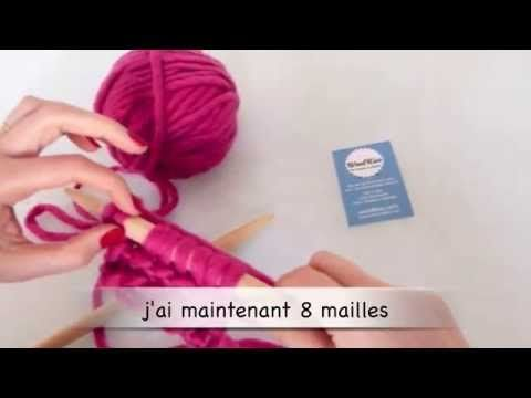 Tricot comment faire une augmentation simple by woolkiss woolkiss video tutorials - Faire une augmentation en tricot ...