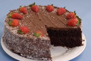 Chocolate Cake Gluten free Vegan