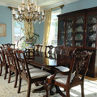25 best ideas about formal dining rooms on pinterest for Formal dining room centerpiece ideas