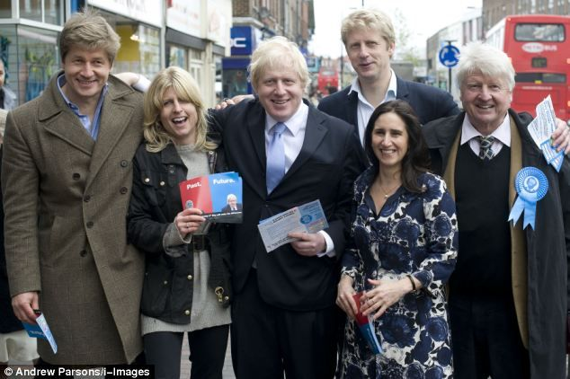 Boris Johnson´s brothers and sister are cute, but he is the blondest.