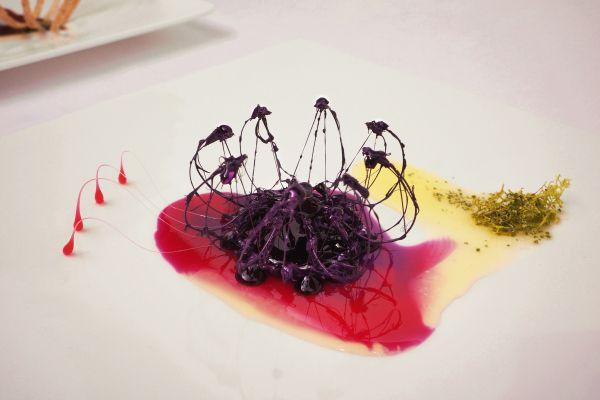 Minsu Kim's haute-cuisine venture, The Living Food Project #food #art #photography