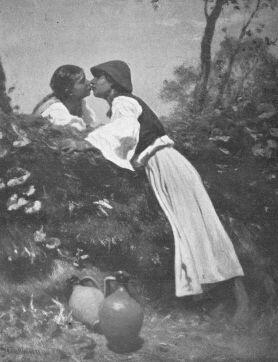 A CSÓK. 1863 PETTENKOFEN ÁGOST OLAJFESTMÉNYE BÉCSI MŰVÉSZETTÖRT. GYŰJTEMÉNY