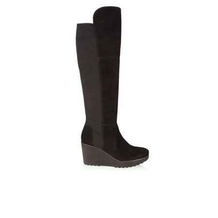 Kennel Und Schmenger Nala Long Wedge Boot - Black