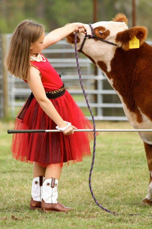 this will probably be my daughter... get all dressed up in a fancy dress & put her boots on to go out to the pasture with the horses.