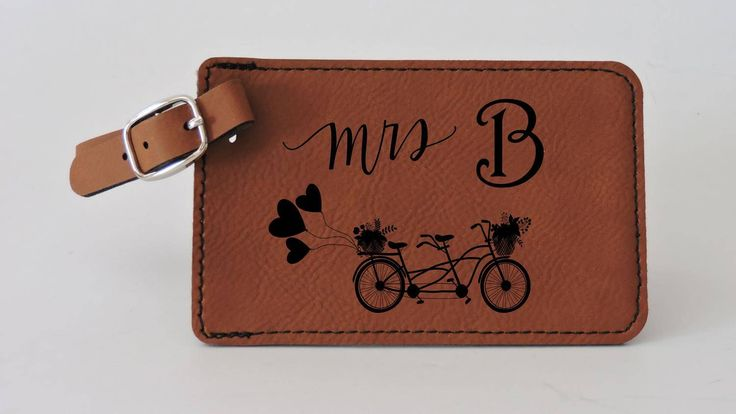Mrs, Personalized Luggage Tag Leather, Mr & Mrs, Engraved Luggage Tag, Luggage Tags Personalized, Custom Luggage Tag, Travel Accessories by ForeverMeGifts on Etsy