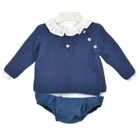 www.pepaonline.com Completo conjunto para bebé de la marca Marta y Paula que b80210c6c0b