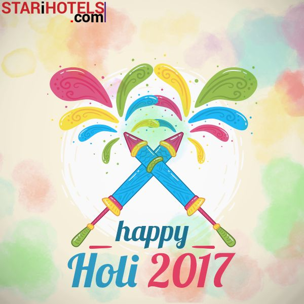 Let's Celebrate the Festival of Colours and Spread Peace & Happiness Everywhere! STARiHOTELS Wishing You All a Holi with Sweet Moments and Colorful Memories to Cherish Forever #HappyHoli
