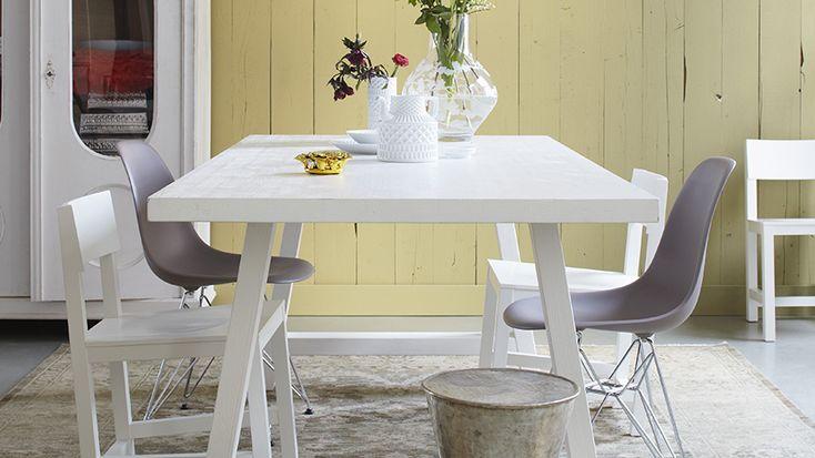 mesa branca redonda cozinha - Pesquisa Google