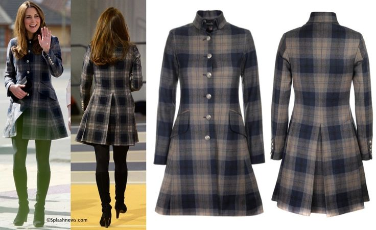 Kate in the Moloh Workers Coat Glasgow, Princess Catherine / Kate Middleton style