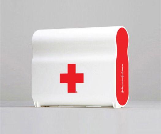 Johnson and Johnson First Aid Kit | Designer: Harry Allen Design - http://www.harryallendesign.com