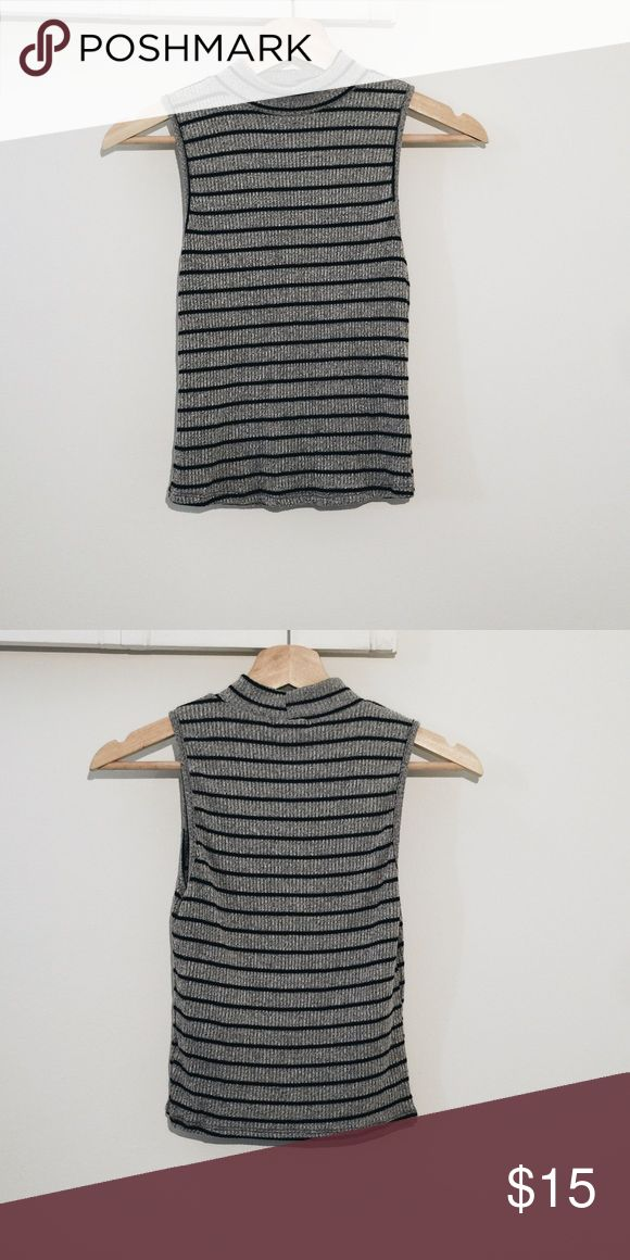 Ribbed knit too LUNAFAY Brand new Tops Tees - Short Sleeve