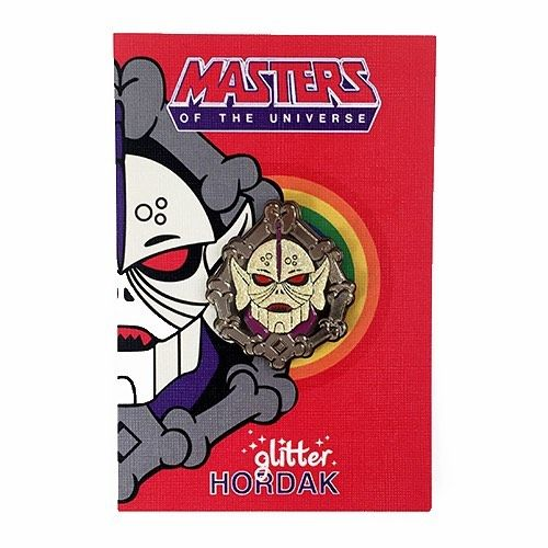 "MOTU fans my ""Glitter Hordak"" lapel pin is now available to buy from @stupidkrap Check their site www.stupidkrap.com 100 pins only! by aaronjcraig"