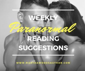 Click here to check out this week's paranormal reading suggestions! Leave a comment and tell me what you thought.