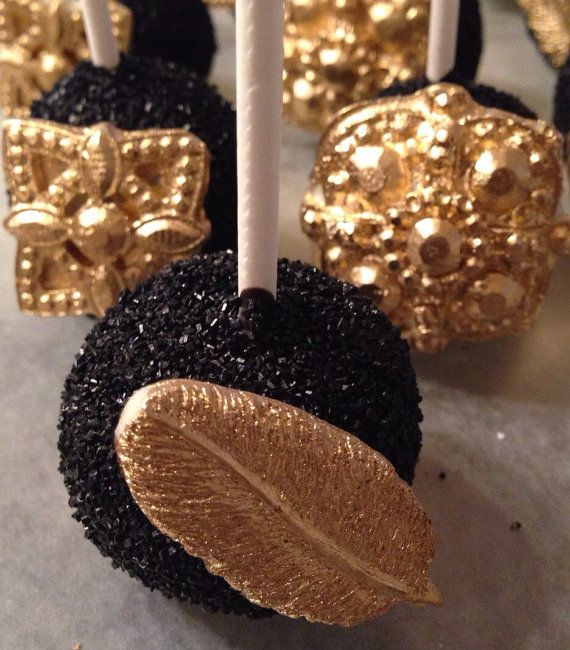 Cake Pops Quot Great Gatsby Quot Themed Twenties Dessert Table