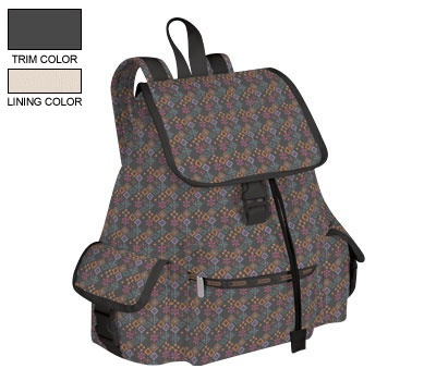 lesportsac backpacks voyager backpack in russian ditzy. Black Bedroom Furniture Sets. Home Design Ideas