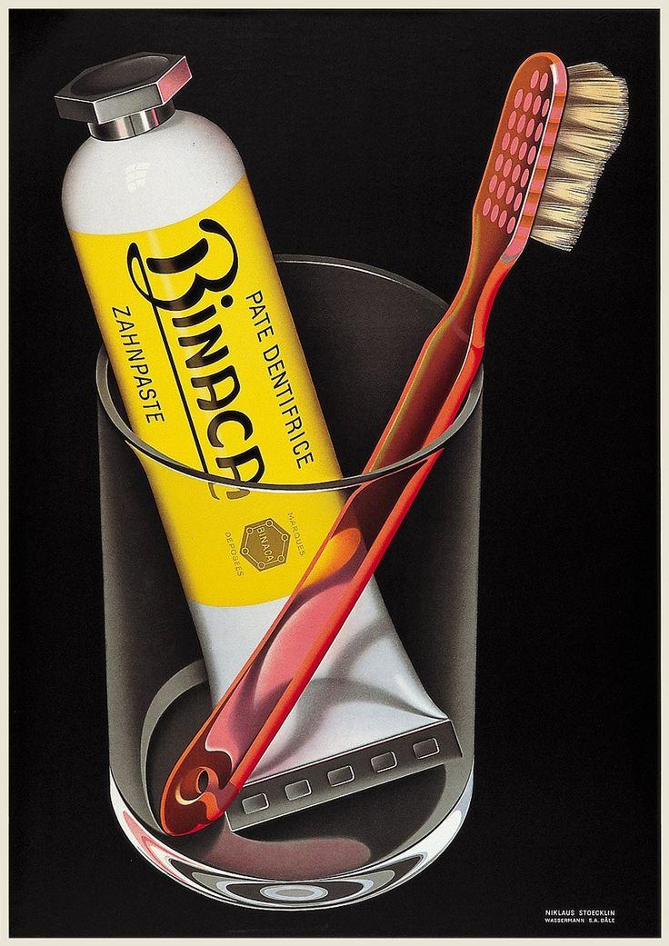 Kreiert von Niklaus Stoecklin im Jahre 1941.