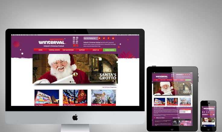 Here is our brand new look Winterval Website for the 2013 Festival - tickets can now also be booked online at www.winterval.ie