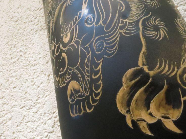 浮書絵彫ー君津市立図書館