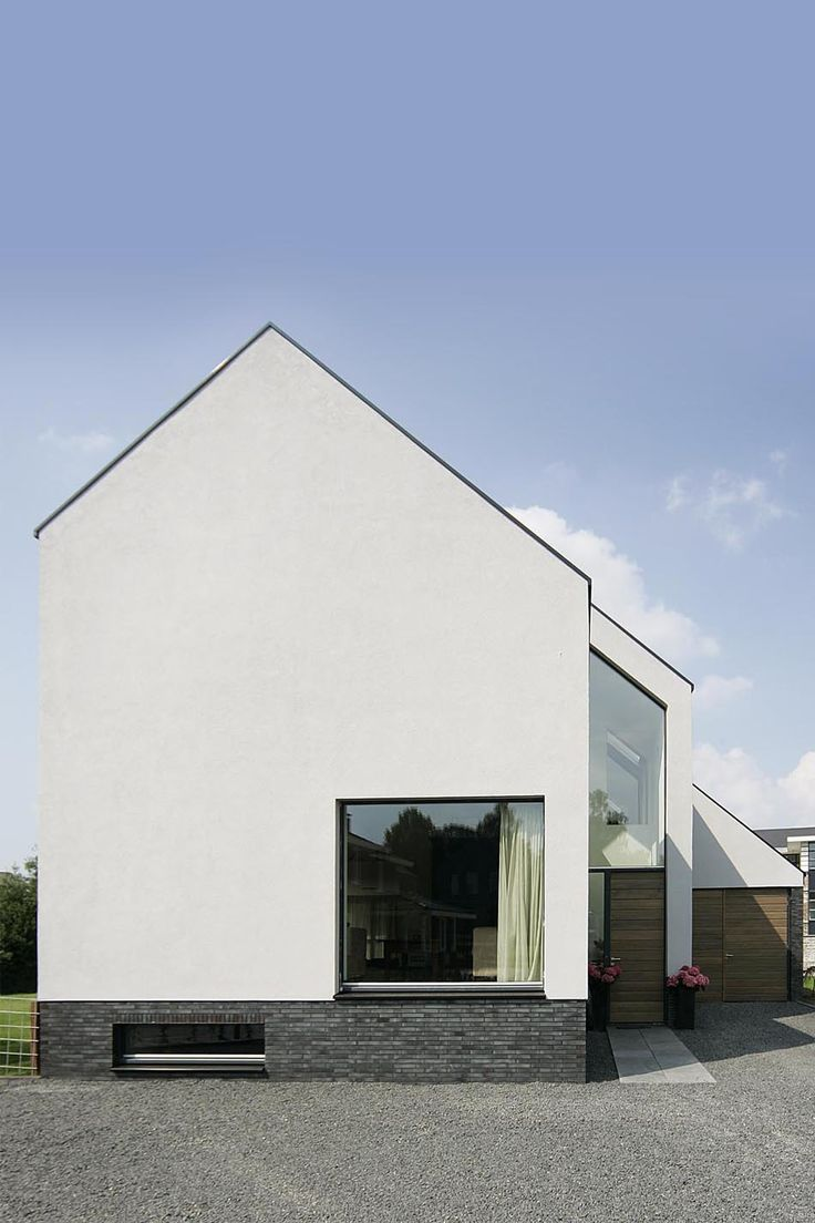 186 best images about satteldach haus on pinterest for Bungalow modern satteldach