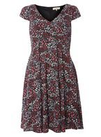 Womens **Billie & Blossom Ditsy Sweetheart Dress- Fl Multi