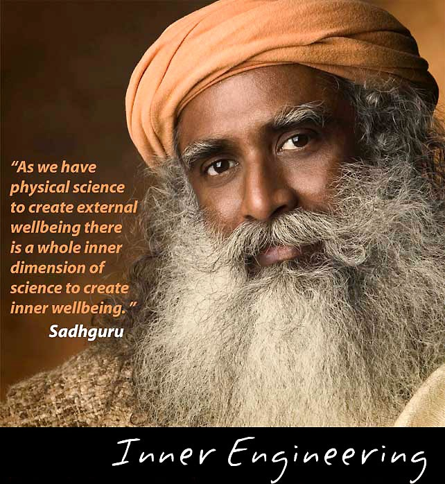 SADHGURU JAGGI VASUDEV is a yogi, mystic and spiritual master with a difference. He founded Isha Foundation, a non profit, non religious, public service organization which addresses all aspects of human wellbeing.