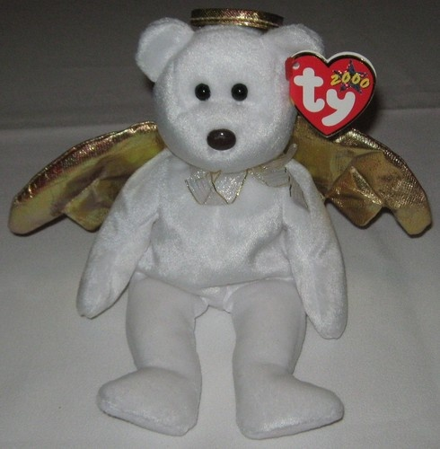 HALO II THE ANGEL BEAR 2 - Ty Beanie Baby (Beanies 7fc6641832c