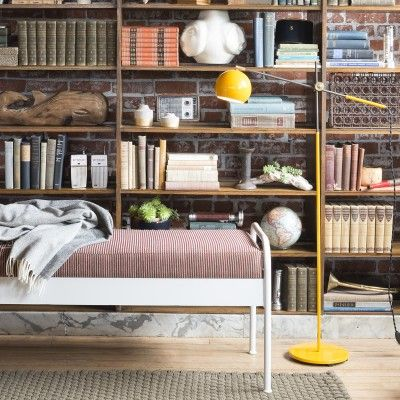 Studio Floor Lamp - Industrial Yellow | Table + Floor Lamps | Lighting