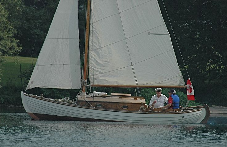 https://flic.kr/p/59Nrtp | The Dawn Treader setting sail ~ | I have some really interesting information on this lovely sailing boat from our friend we rented the cottage from on Stella  Point. The man on the left, Harley owns the cottage we rented and also owns this wonderful old boat. On the right is hubby Larry, being taught the ropes, so to speak!   Here is the history of The Dawn Treader.  The Dawn Treader was so named in 1974 and registered as a British ship in Toronto.  She was built…