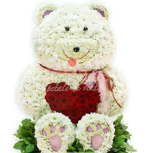O vineri pufoasa! Abia asteptam weekendul! ☘🐼 Singura florarie unde gasiti ursuleti de flori la cele mai bune preturi --> https://www.floridelux.ro/aranjamente-florale-online/ursuleti-din-flori/
