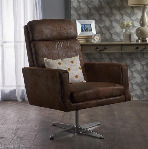 Modern Microfiber Swivel Accent Chair Dining Room Chair Cushions