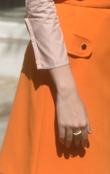 Cuff | Veronique Leroy Cotton Poplin Button-Up ss16