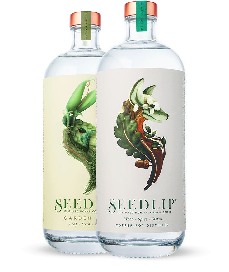 Seedlip, the world's first non-alcoholic spirits.