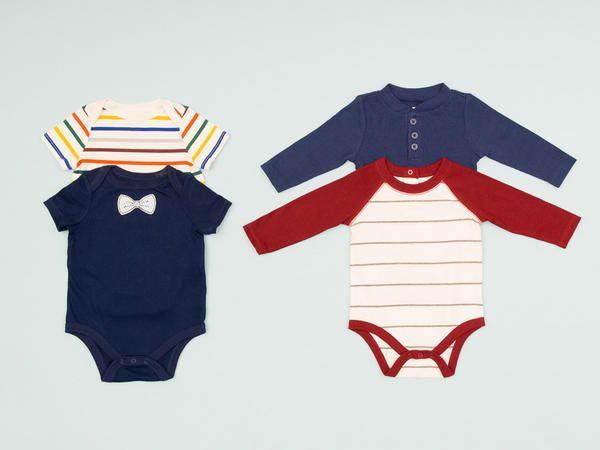 Antes de comprarle la ropita a tu bebé, consulta esta lista de prendas que te serán muy útiles durante los primeros meses.