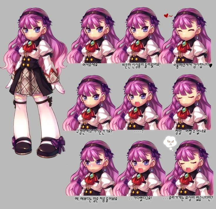 Grand Chase's Violet - NPC Friend of Rita | KOG Co., Ltd.