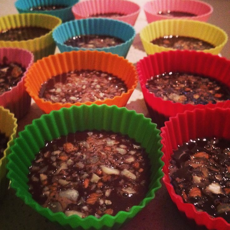 Choccy Almond Cups (Dairy Free)